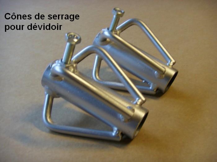 cônes de serrage diamètre 76 mm
