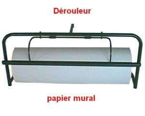 Dérouleur mural papier acier métal