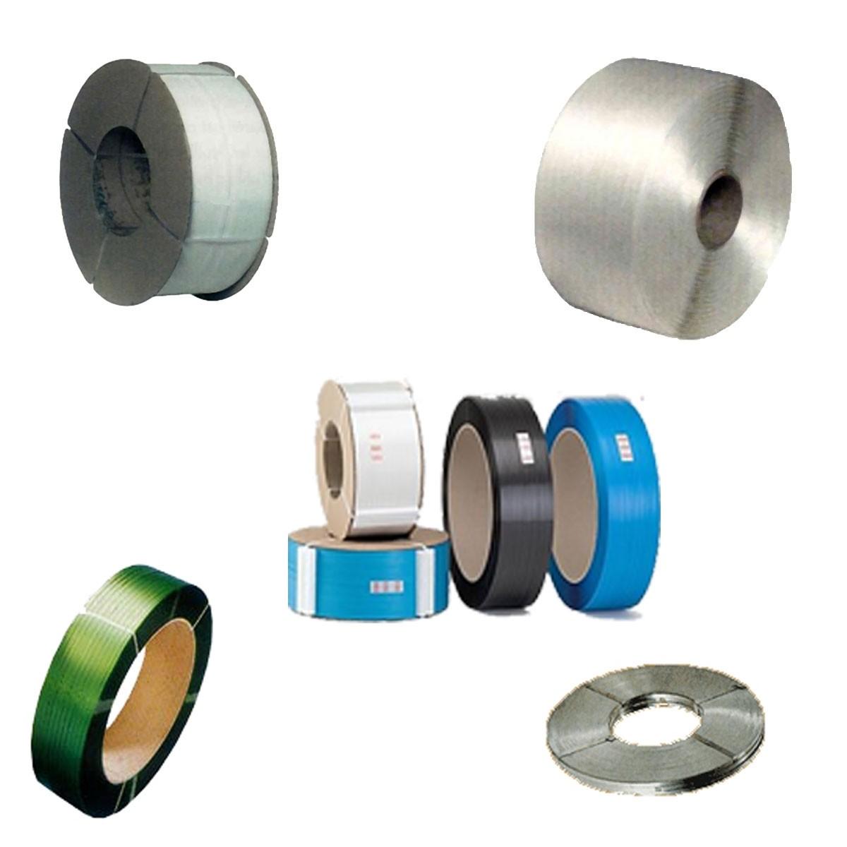 Feuillard polypropylène, PET, acier ou textile pour différentes applications
