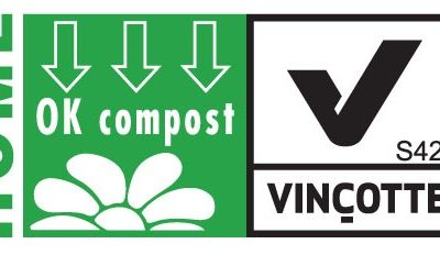 sac biodégradable et HOME COMPOST