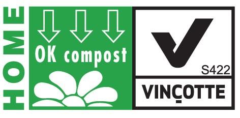sac biodégradable et HOME COMPOST