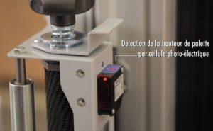 détection de la hauteur par cellule