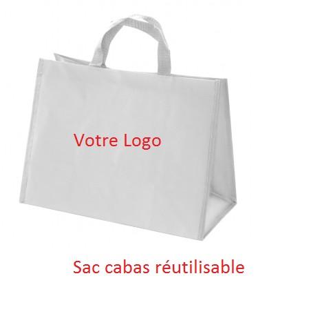 sac cabas réutilisable personnalisé