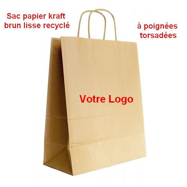 sac publicitaire plastique papier