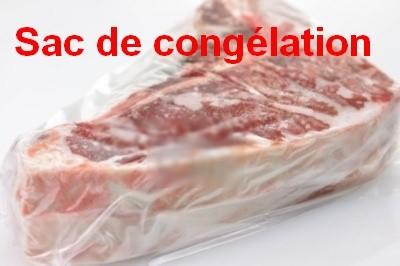 sac congélation