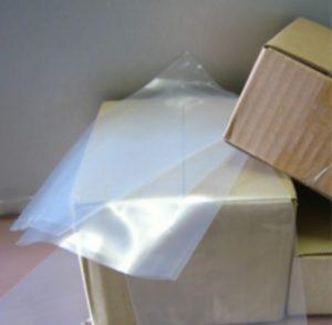 sac en vrac dans un carton