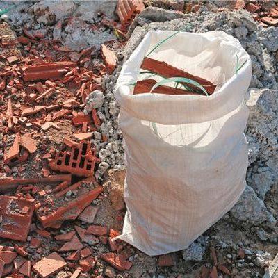 sac PP tissé produit saillant et lourd