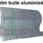 film à bulles aluminisé