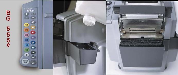 réservoir d'eau du dévidoir bande gommée électronique