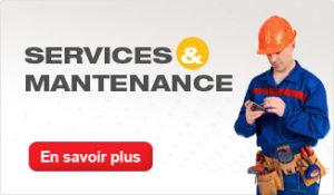 Services et maintenance