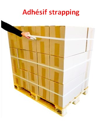 Ruban adhésif de strapping