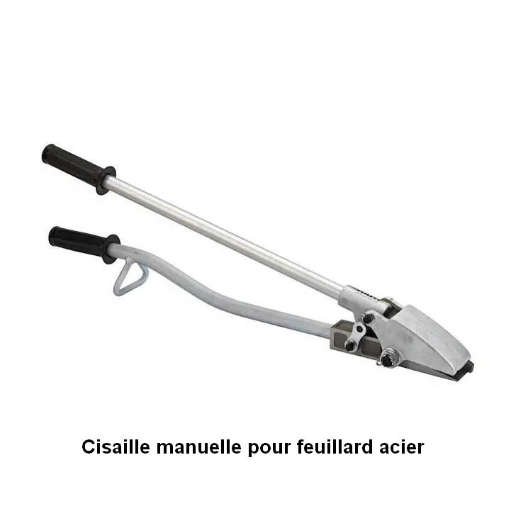Cisaille manuelle pour feuillard acier