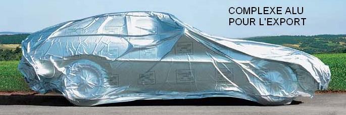 Complexe alu pour protéger les produits qui vont à l'exportation de la corrosion